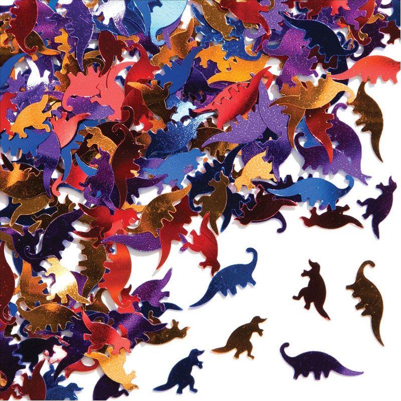 Confeti-Dinosaurios