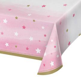 Mantel Un Año Niña Little Star 2,74 x 1,37 m