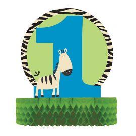 Centro de Mesa Wild At One Zebra