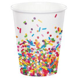 8 Vasos Sprinkles 266 ml