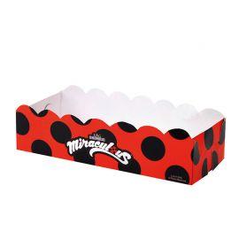 12 Bandejas LadyBug Rectangular