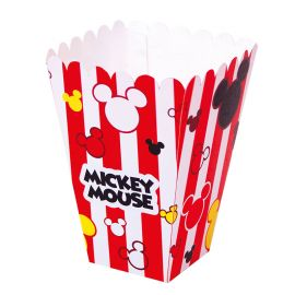 e2486368e Recipientes para Candy Bar. 12 Cajas Mickey Mouse Palomitas