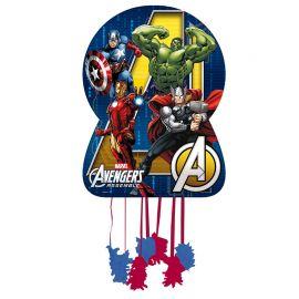 Piñata Los Vengadores Silueta