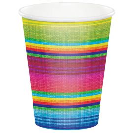 8 Vasos Serape 266 ml
