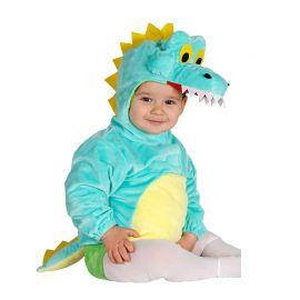 Disfraz de Cocodrilo para Bebé Azul
