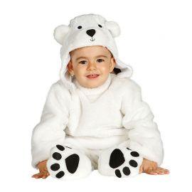 Disfraz de Oso Polar para Bebé Blanco