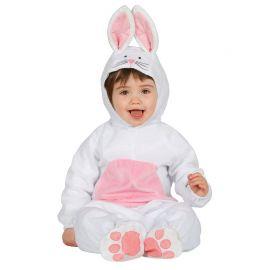 Disfraz de Conejito para Bebé Blanco