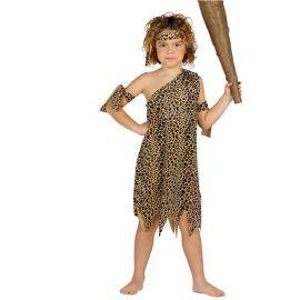 Disfraz de Troglodita Infantil Leopardo