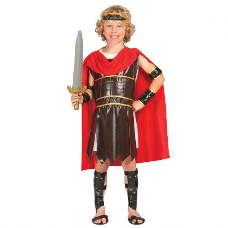 Disfraz de Guerrero Romano para Niño Luchador