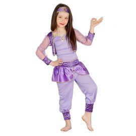 Disfraz de Bailarina Oriental para Niña Lila