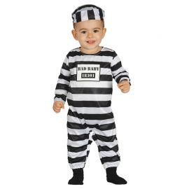 Disfraz de Prisionero para Bebé Cárcel