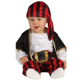 Disfraz de Pirata para Bebé con Chaleco