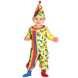 Disfraz de Payaso para Bebé Festivo
