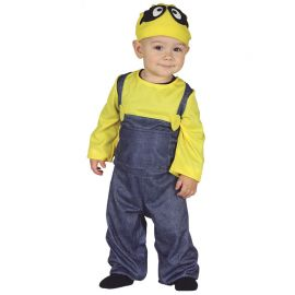 Disfraz de Miniero para Bebé Villano