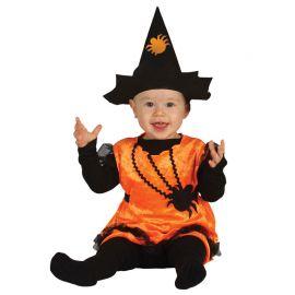 Disfraz de Bruja Araña para Bebé Tenebroso