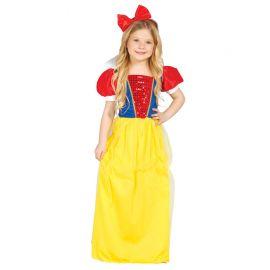 Disfraz de Princesa de los Bosques para Niña