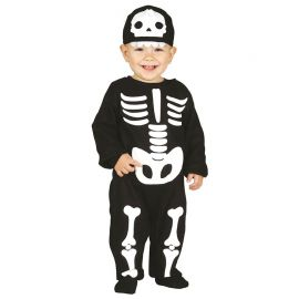 Disfraz de Esqueleto para Bebé Gracioso