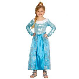 Disfraz de Princesa Congelada Niña