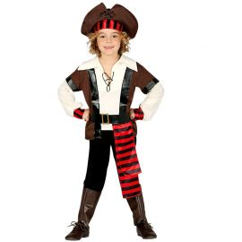Disfraz de Pirata Bucanero de los 7 Mares para Niño