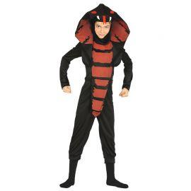 Disfraz de Ninja Cobra para Niño con Máscara