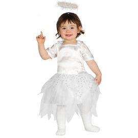 Disfraz de Ángel para Bebé con Falda