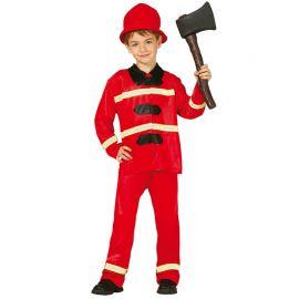 Disfraz de Bombero para Niño Heroico