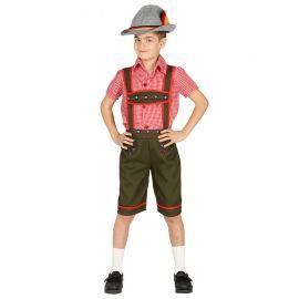 Disfraz de Tirolés para Niño de los Alpes