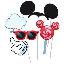 5 Accesorios Mickey Mouse Photocall