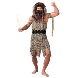 Disfraz de Troglodita Hombre con Cinturón