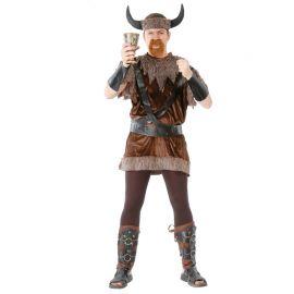 Disfraz de Vikingo Hombre Vestido Terciopelo