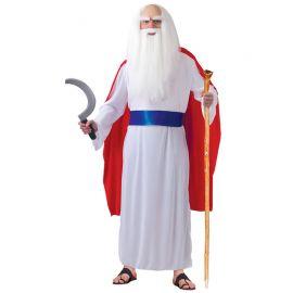 Disfraz de Druida para Hombre Túnica Blanca