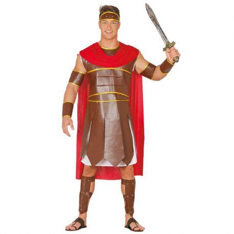 Disfraz de Guerrero Romano para Hombre con Capa