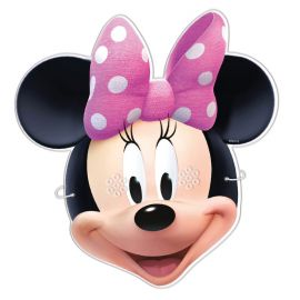 6 Caretas Minnie Mouse