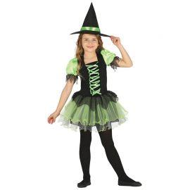 Disfraz de Bruja Esmeralda para Niña