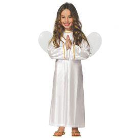 Disfraz de Ángel Mensajero para Niña
