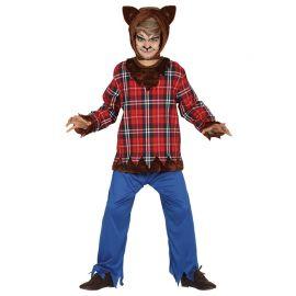 Disfraz de Hombre Lobo para Niño Escocés