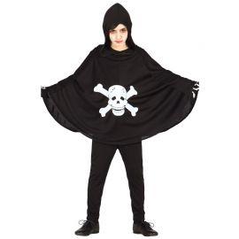 Disfraz de Terror Infantil Con Calavera