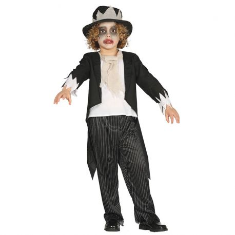 Disfraz de Novio Fantasma para Niño con Smoking