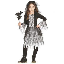 Disfraz de Ghost Girl para Niña con Encaje