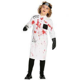 Disfraz de Médico Asesino para Niño Sangriento