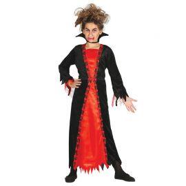 Disfraz de Vampiro para Niña con Picos