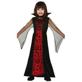 Disfraz de Vampira Condesa para Niña Elegante