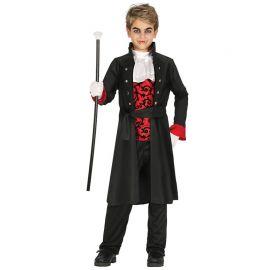 Disfraz de Vampiro Niño con Chaqueta Larga