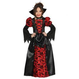 Disfraz de Vampiresa para Niña Vestido Elegante