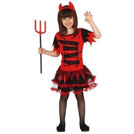 Disfraz de Diablesa para Niña con Tutú