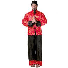 Disfraz de Chino para Hombre en Dos Piezas