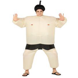 Disfraz de Luchador de Sumo para Adulto Hinchable