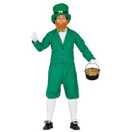 Disfraz de Leprechaun para Hombre Barbudo