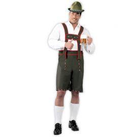 Disfraz de Tirolés para Hombre con Tirantes