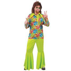 Disfraz de Flower Power Hippie para Hombre